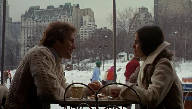 Jenny and Oliver, the ill-fated lovers at the center of the 1970 classic Love Story