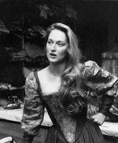 Meryl Streep in 1978's The Taming of the Shrew