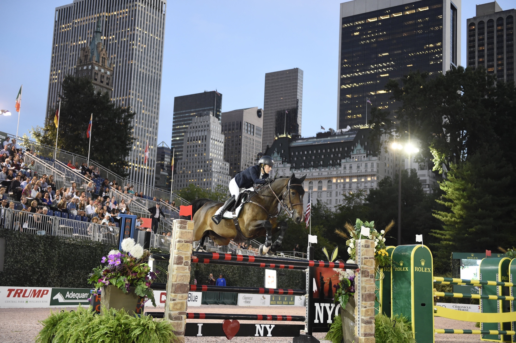 Nicole Belissimo riding Harley David (Winners) US Open Under 25 Grand Prix