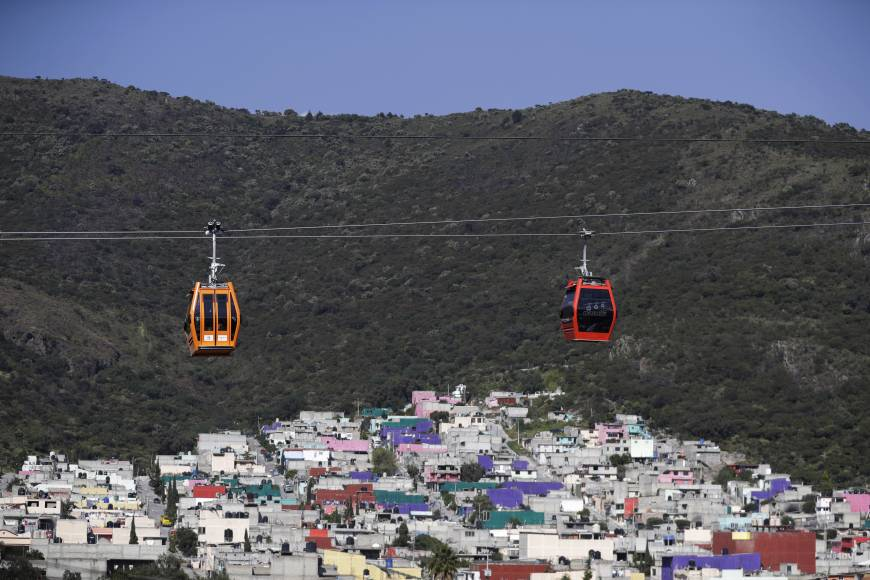 Mexican Aerial Gondola System, nicknamed the Mexicable